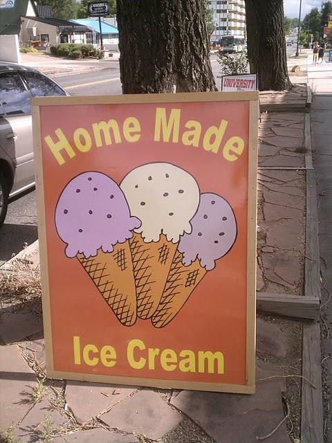 home made ice cream university groundz